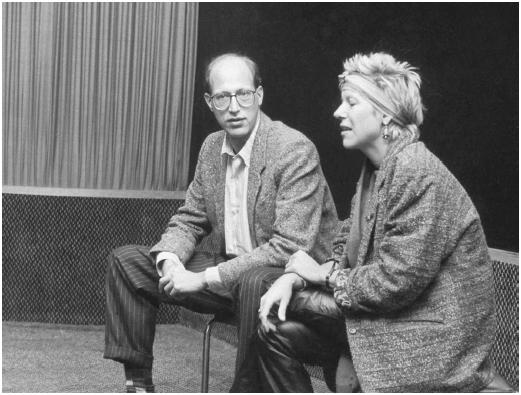 Doris Dörrie with Jack Sholder