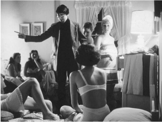 John Landis on the set of Animal House