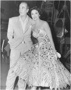 Vincente Minnelli with Cyd Charisse
