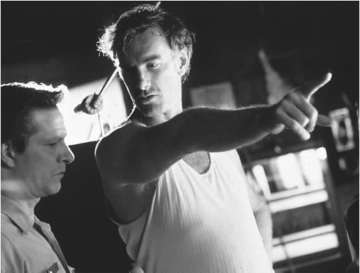 John Sayles (right) with Chris Cooper