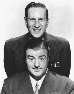 Abbott (top) and Costello
