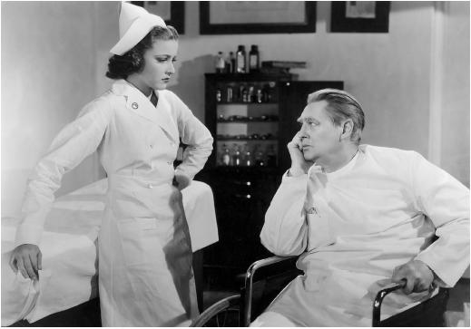 Lionel Barrymore in Calling Dr. Kildare