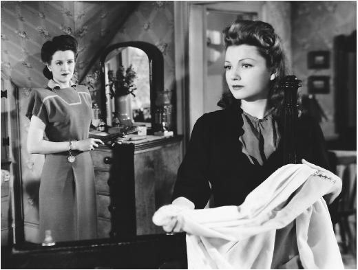 Anne Baxter (right) with Ruth Warwick in Guest in the House