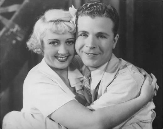Joan Blondell with Dick Powell in Dames