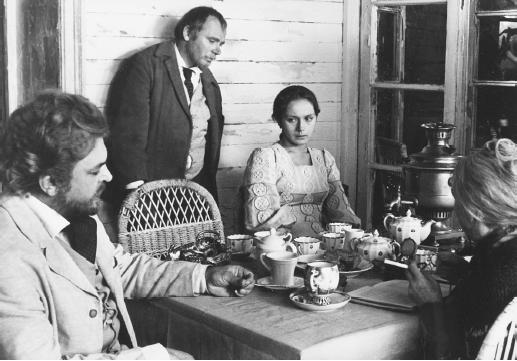 Sergei Bondarchuk (left) in Uncle Vanya