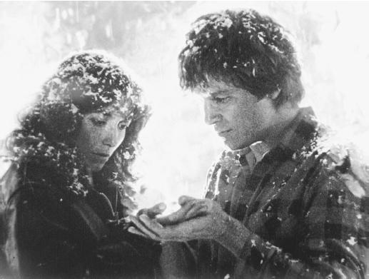 Jeff Bridges with Karen Allen in Starman
