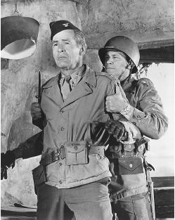 Charles Bronson (right) in The Dirty Dozen
