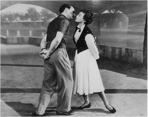 Leslie Caron with Gene Kelly in An American in Paris