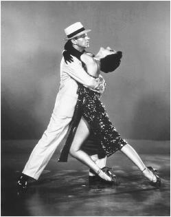 Cyd Charisse with Fred Astaire in The Band Wagon