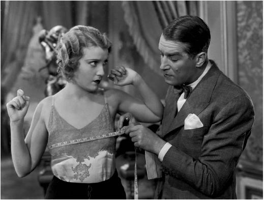 Maurice Chevalier with Jeannette MacDonald in Love Me Tonight