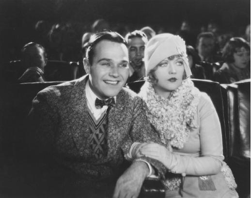 Marion Davies with William Haines in Show People