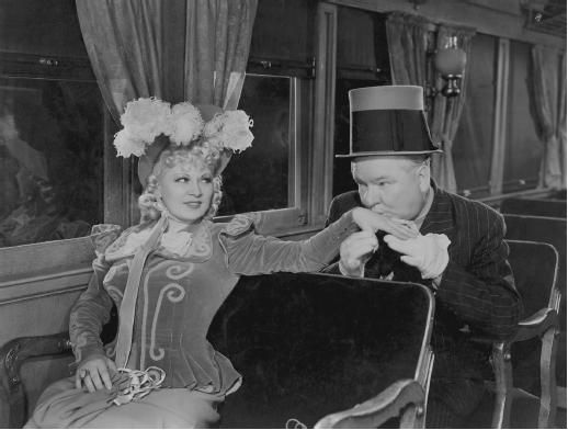 W. C. Fields with Mae West in My Little Chickadee