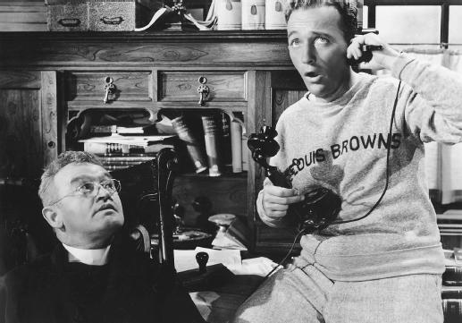 Barry Fitzgerald (right) with Bing Crosby in Going My Way