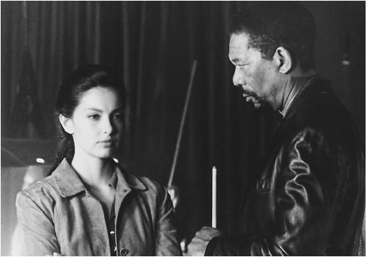 Morgan Freeman and Ashley Judd in Kiss the Girls