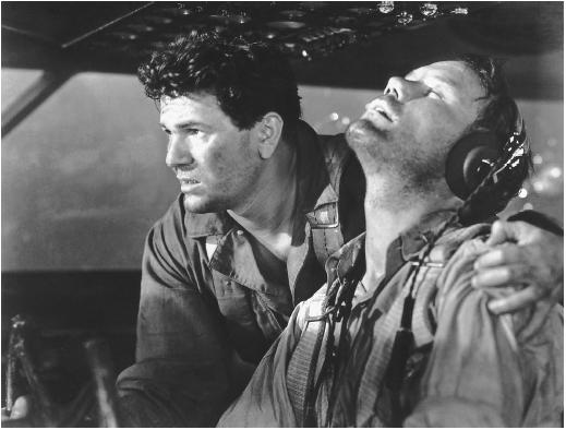 John Garfield (left) in Air Force