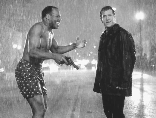 Danny Glover and Mel Gibson
