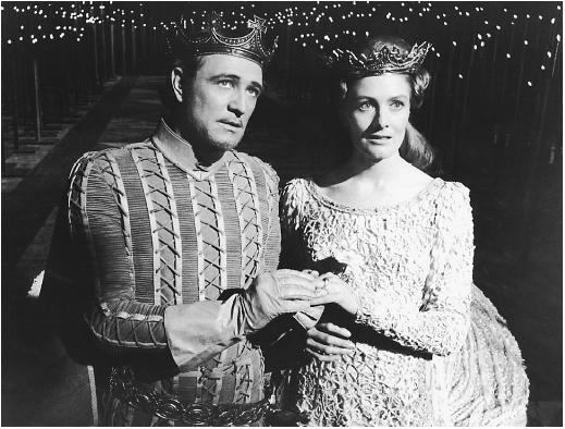 Richard Harris with Vanessa Redgrave in Camelot