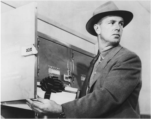 Sterling Hayden in The Killing