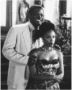 Samuel L. Jackson and Lynn Whitfield in Eve's Bayou