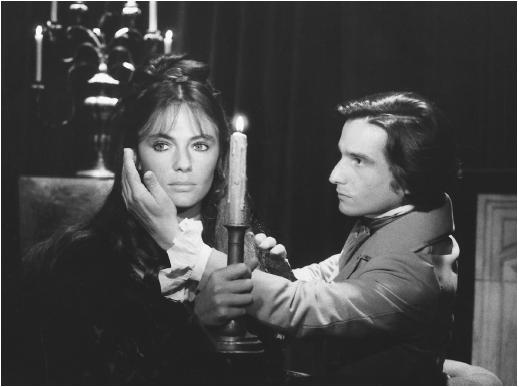 Jean-Pierre Léaud with Jacqueline Bisset in Day for Night