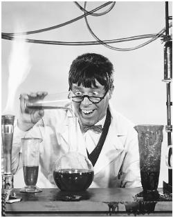 Jerry Lewis in The Nutty Professor