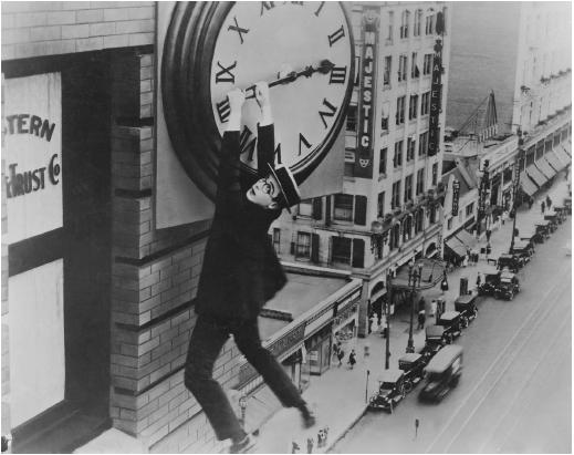 Harold Lloyd in Safety Last
