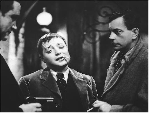 Peter Lorre (center) in The Man Who Knew Too Much