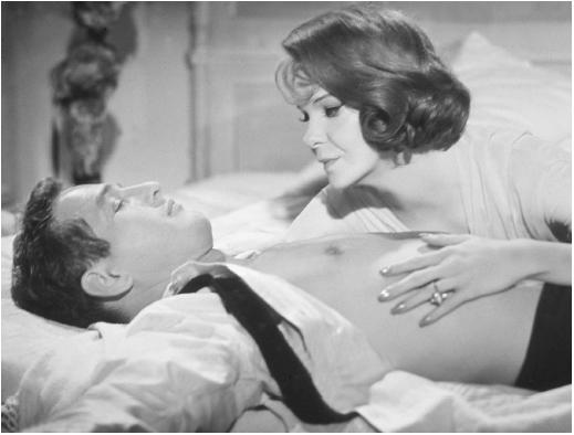 Geraldine Page with Paul Newman in Sweet Bird of Youth