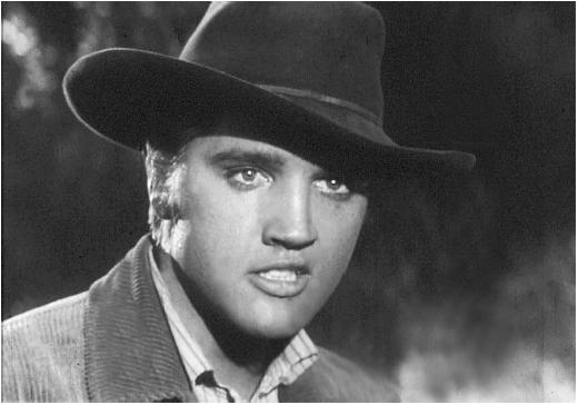Elvis in Love Me Tender