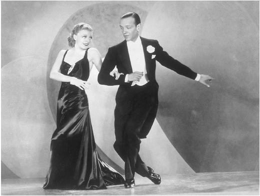 Ginger Rogers and Fred Astaire in Carefree