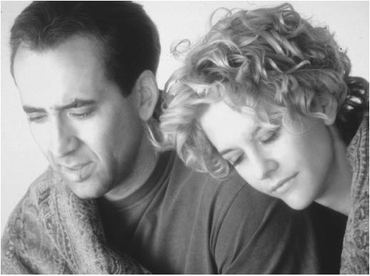 Meg Ryan with Nicholas Cage in City of Angels