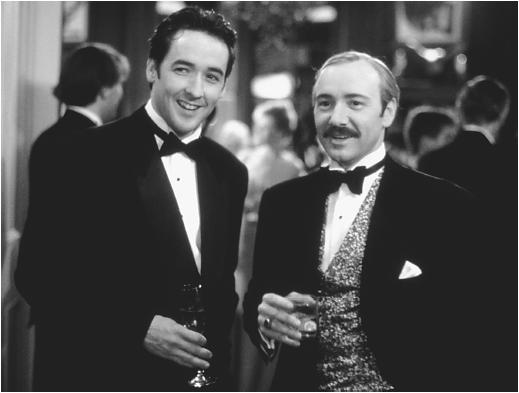 Kevin Spacey (right) and John Cusack in Midnight in the Garden of Good and Evil