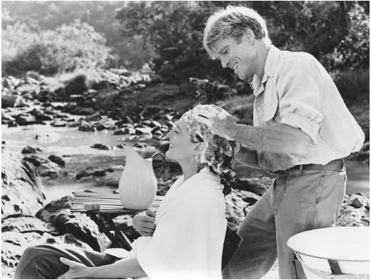 Meryl Streep with Robert Redford in Out of Africa