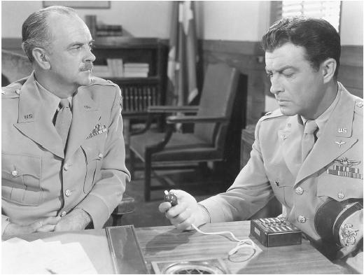 Robert Taylor (right) in Above and Beyond