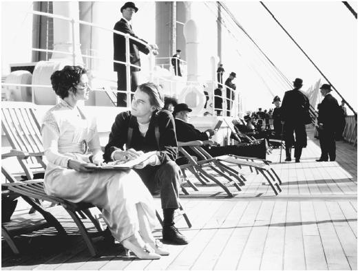 leonardo dicaprio titanic images. DiCaprio in Titanic