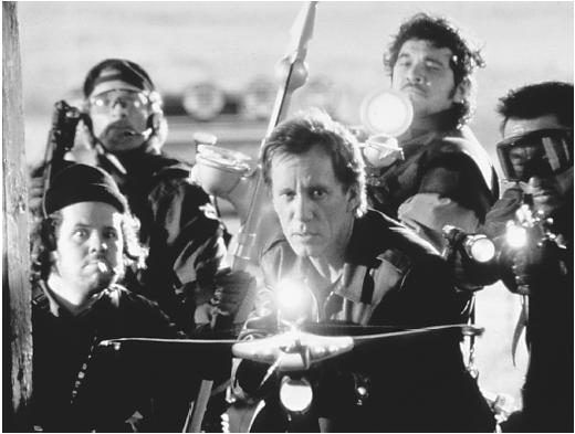 James Woods (with crossbow) in John Carpenter's Vampires