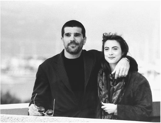 David Mamet with Rebecca Pidgeon